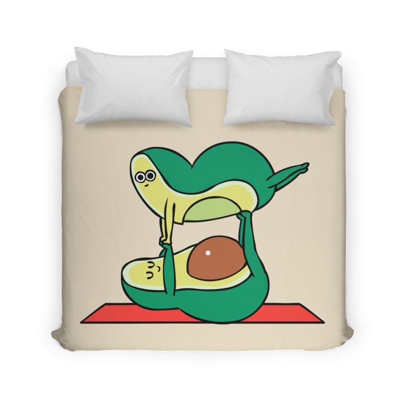 Acroyoga Avocado Home Duvet by huebucket's Artist Shop