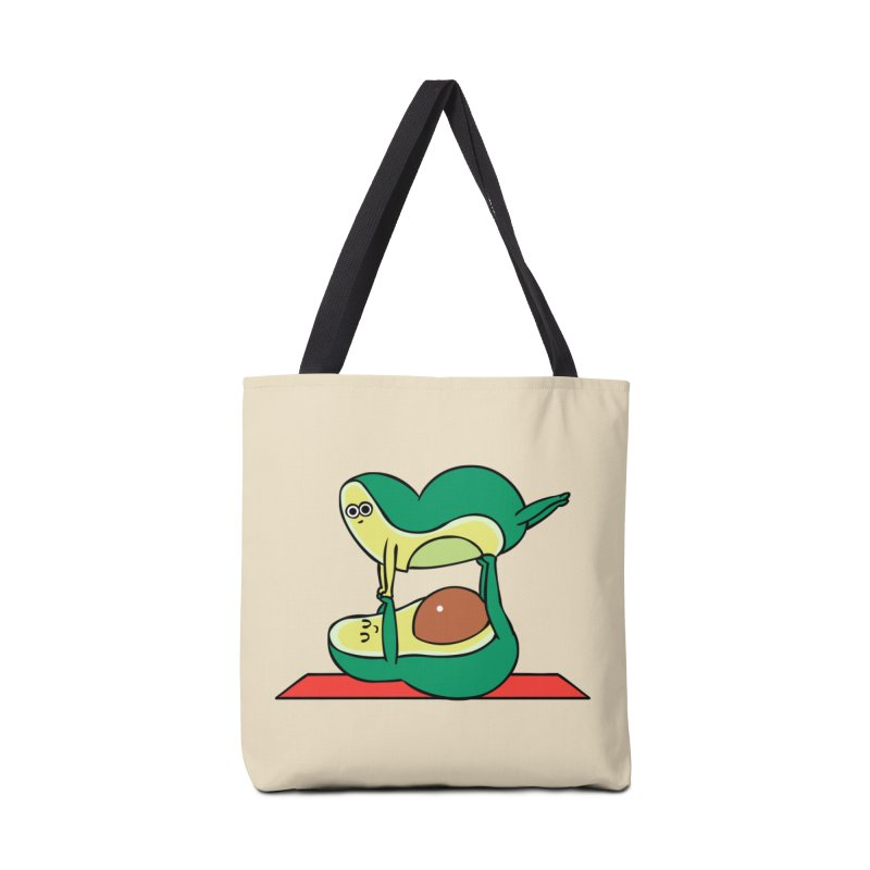 Acroyoga Avocado Accessories Bag by huebucket's Artist Shop