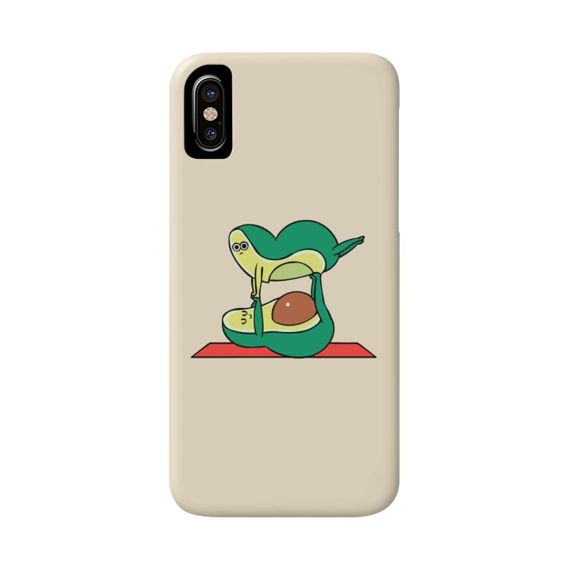 Acroyoga Avocado Accessories Phone Case by huebucket's Artist Shop