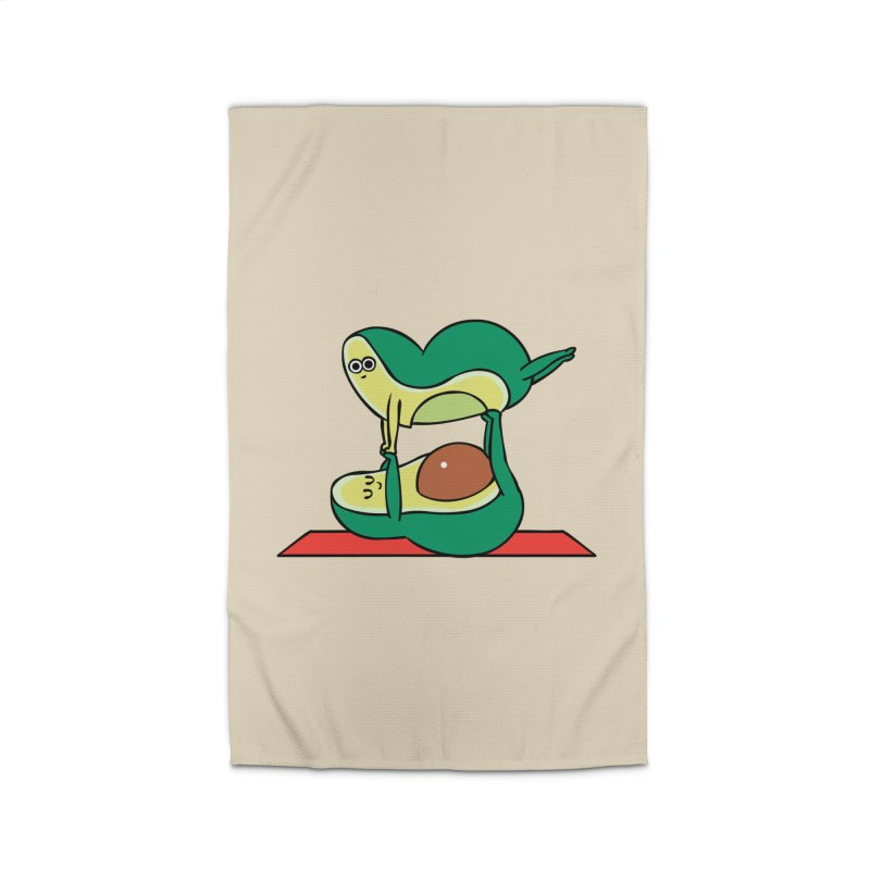 Acroyoga Avocado Home Rug by huebucket's Artist Shop