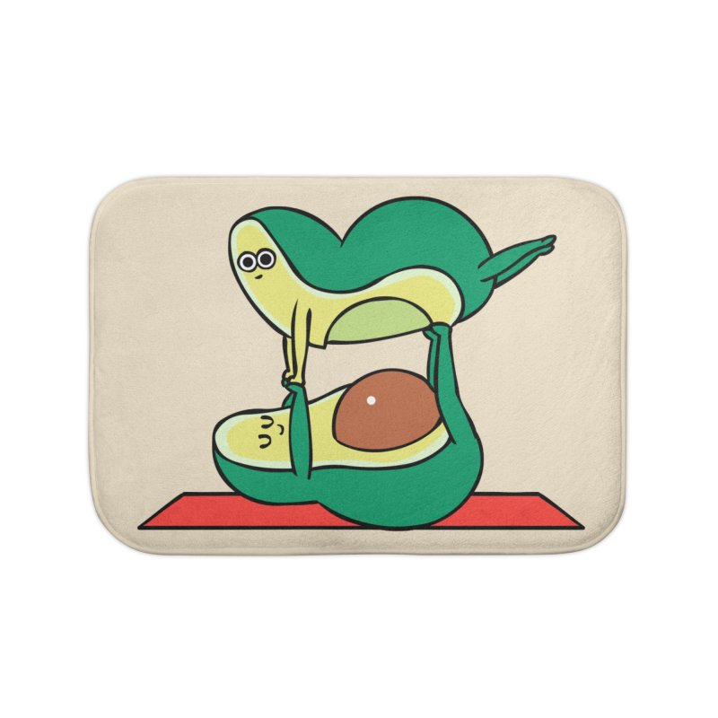 Acroyoga Avocado Home Bath Mat by huebucket's Artist Shop