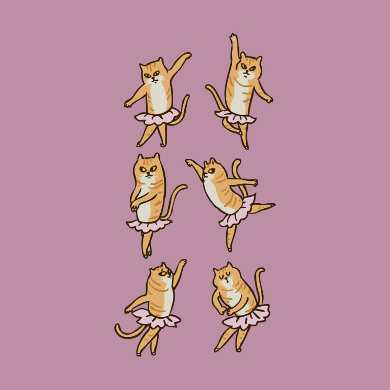 Ballet Cat by huebucket's Artist Shop