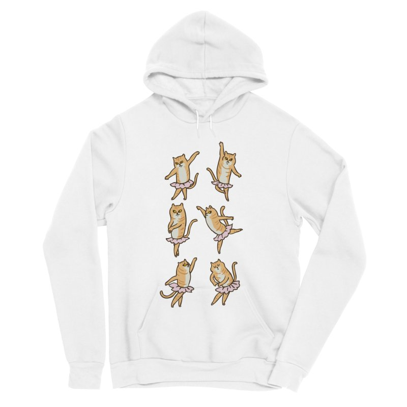 Ballet Cat Women's Sponge Fleece Pullover Hoody by huebucket's Artist Shop