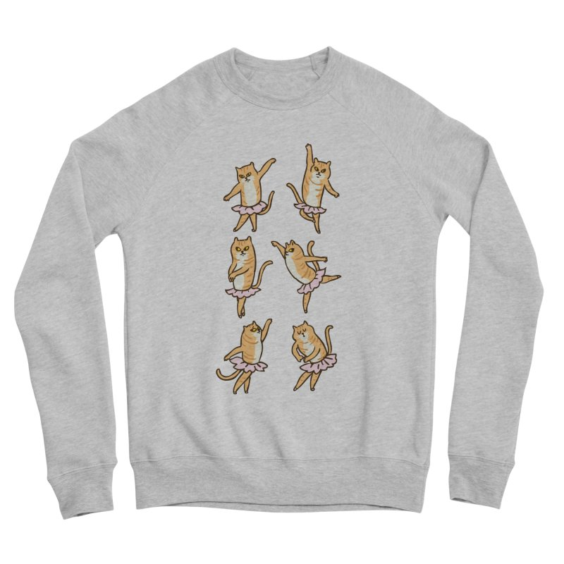 Ballet Cat Men's Sponge Fleece Sweatshirt by huebucket's Artist Shop