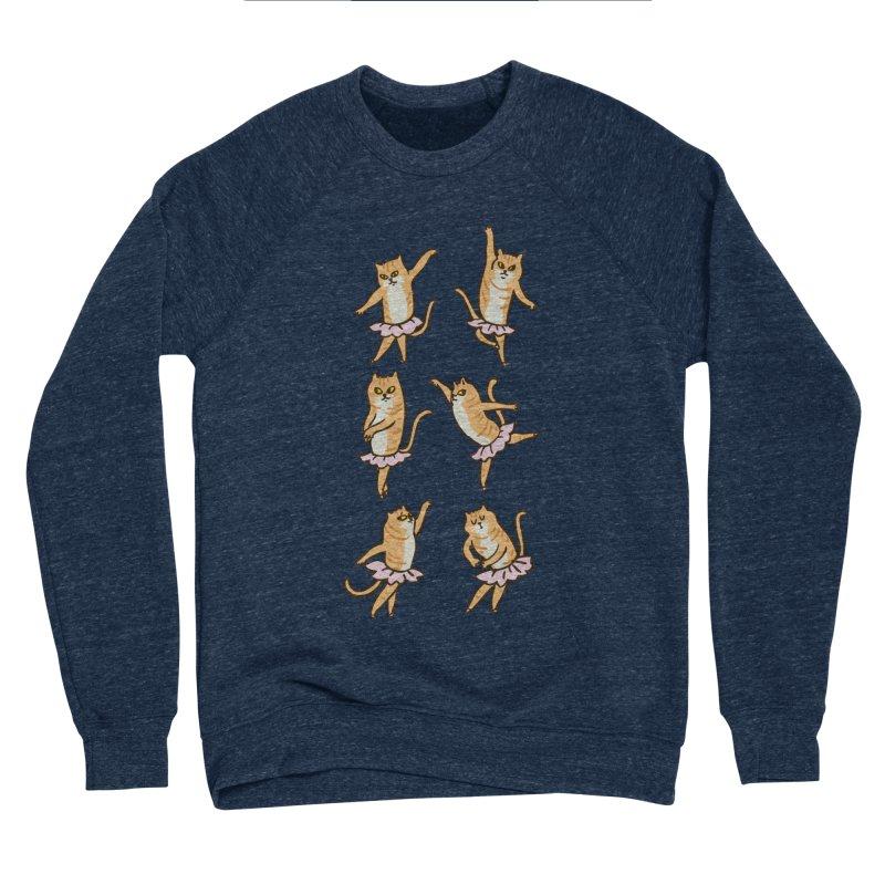 Ballet Cat Women's Sponge Fleece Sweatshirt by huebucket's Artist Shop