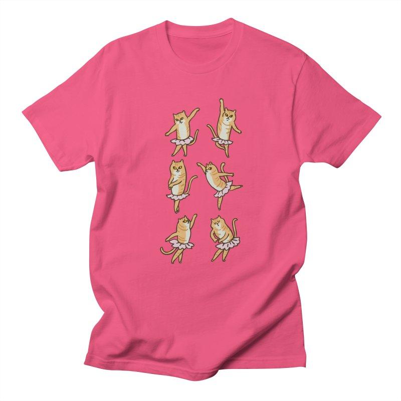 Ballet Cat Women's Regular Unisex T-Shirt by huebucket's Artist Shop