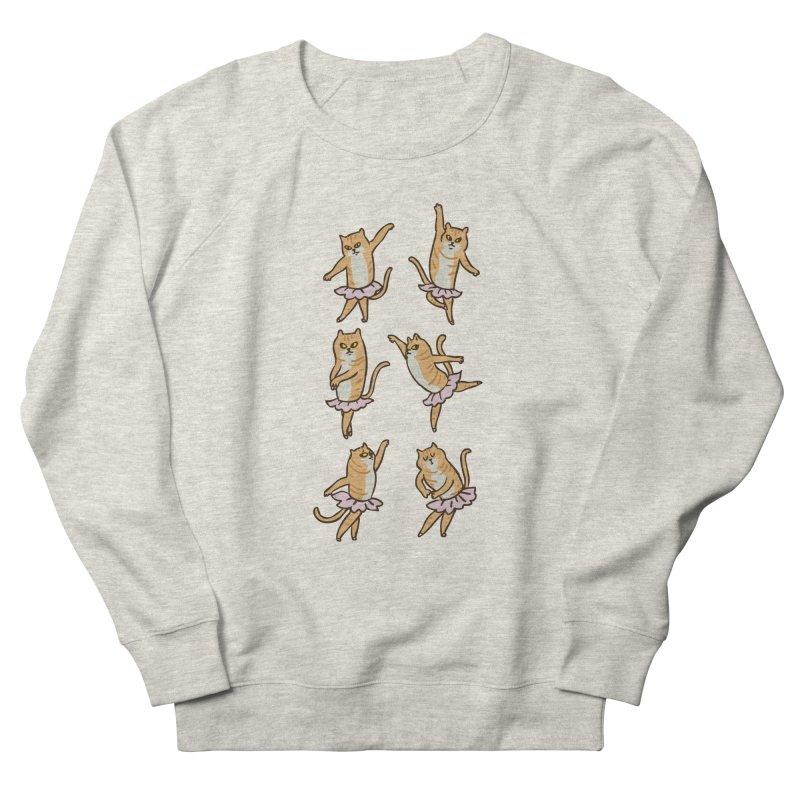Ballet Cat Women's French Terry Sweatshirt by huebucket's Artist Shop