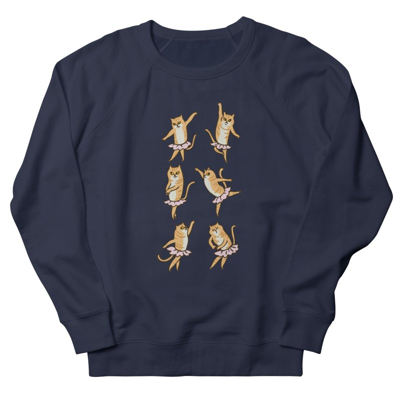 Ballet Cat Men's French Terry Sweatshirt by huebucket's Artist Shop