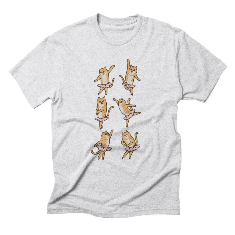 Ballet Cat Men's Triblend T-Shirt by huebucket's Artist Shop