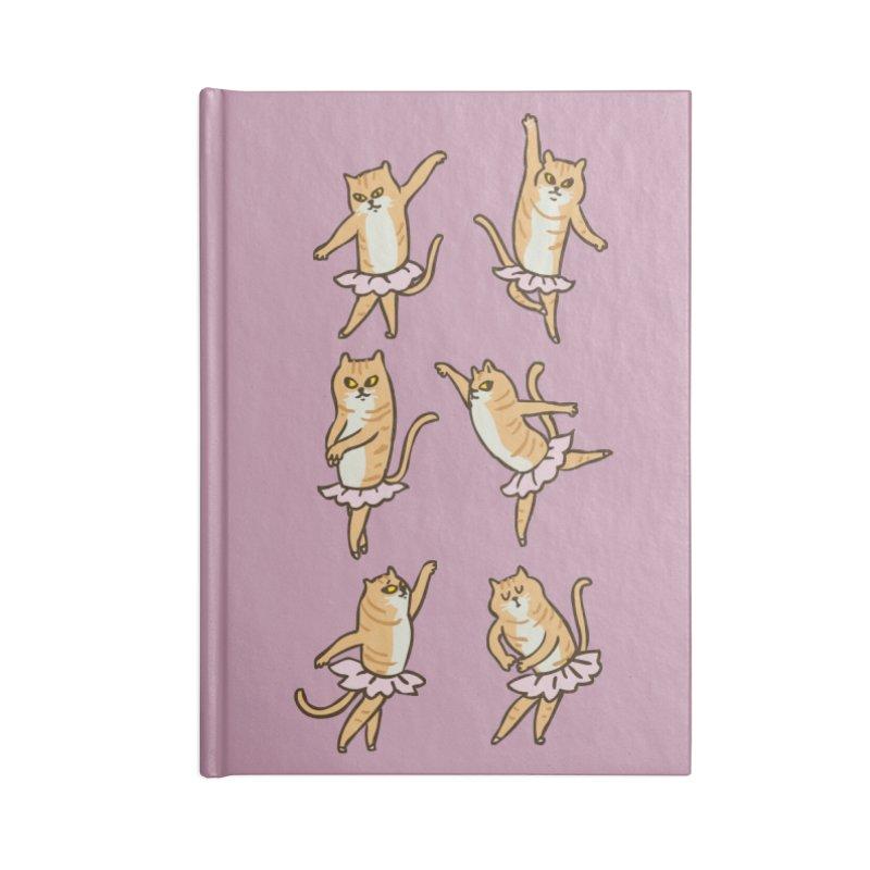 Ballet Cat Accessories Notebook by huebucket's Artist Shop