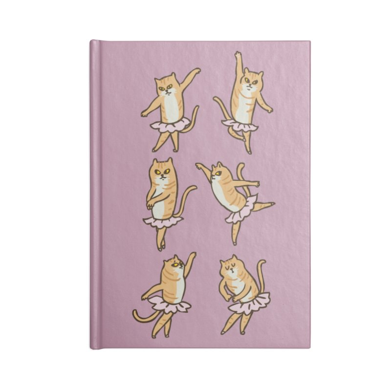 Ballet Cat Accessories Notebook by huebucket's Artist Shop