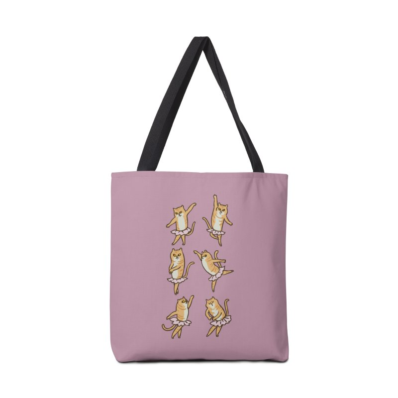 Ballet Cat Accessories Bag by huebucket's Artist Shop
