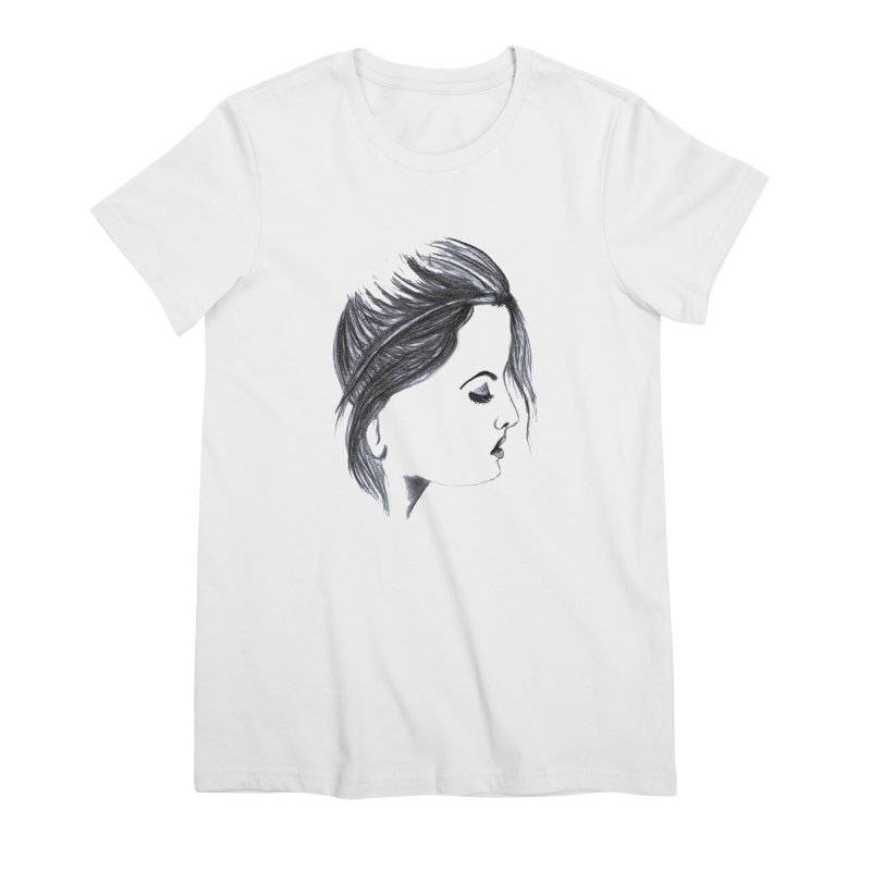 She Women's Premium T-Shirt by Hue Hub