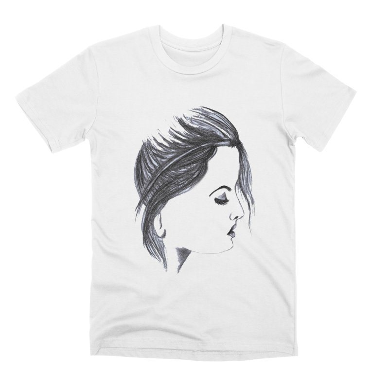 She Men's Premium T-Shirt by Hue Hub