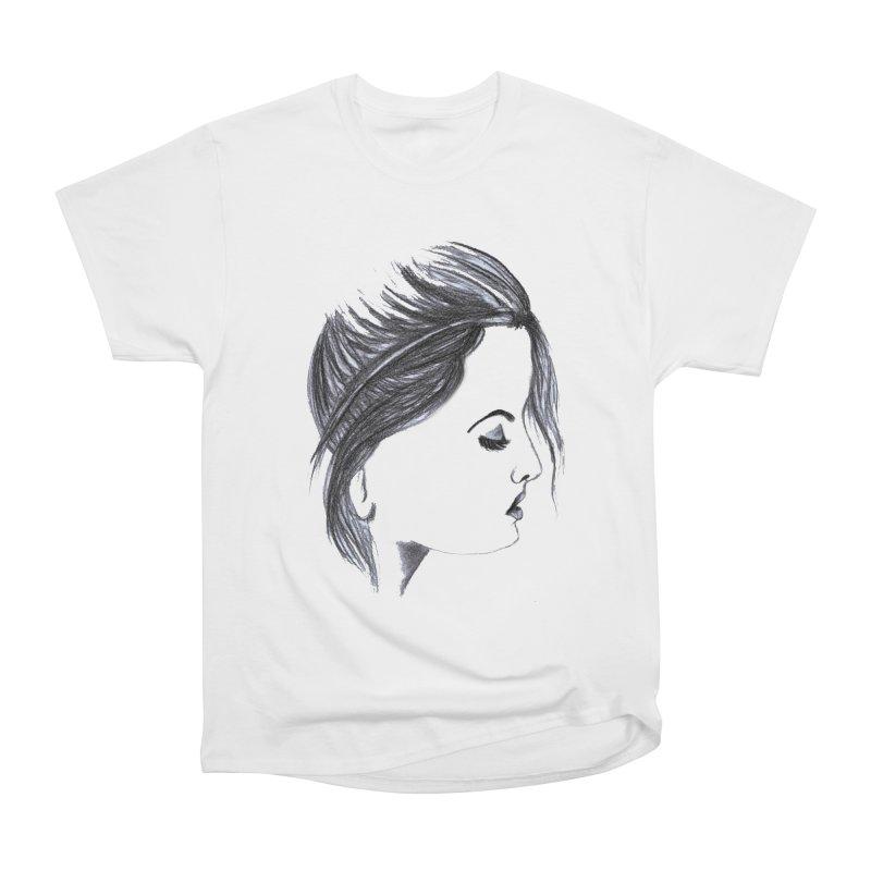 She Men's Heavyweight T-Shirt by Hue Hub