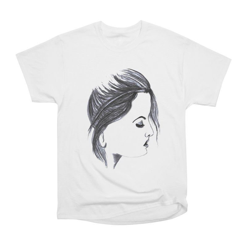 She Women's Heavyweight Unisex T-Shirt by Hue Hub
