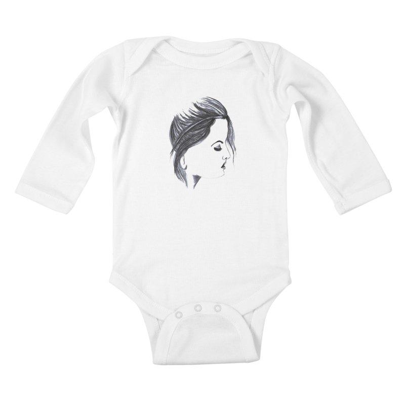 She Kids Baby Longsleeve Bodysuit by Hue Hub