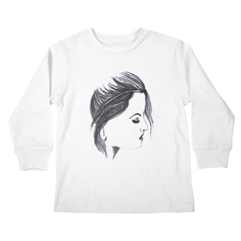 She Kids Longsleeve T-Shirt by Hue Hub