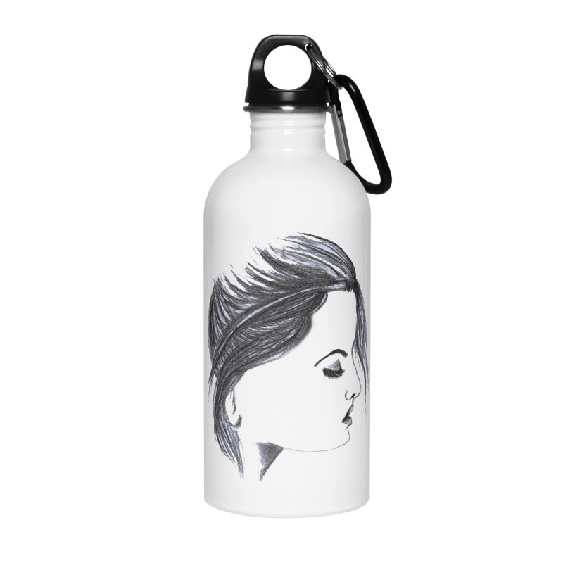 She Accessories Water Bottle by Hue Hub