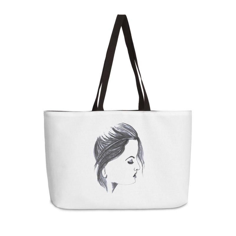 She Accessories Weekender Bag Bag by Hue Hub