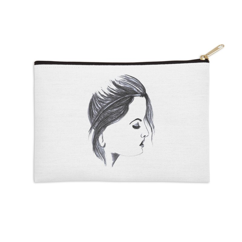 She Accessories Zip Pouch by Hue Hub