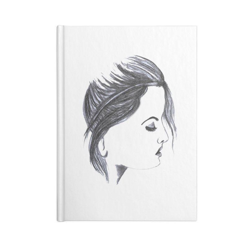 She Accessories Blank Journal Notebook by Hue Hub