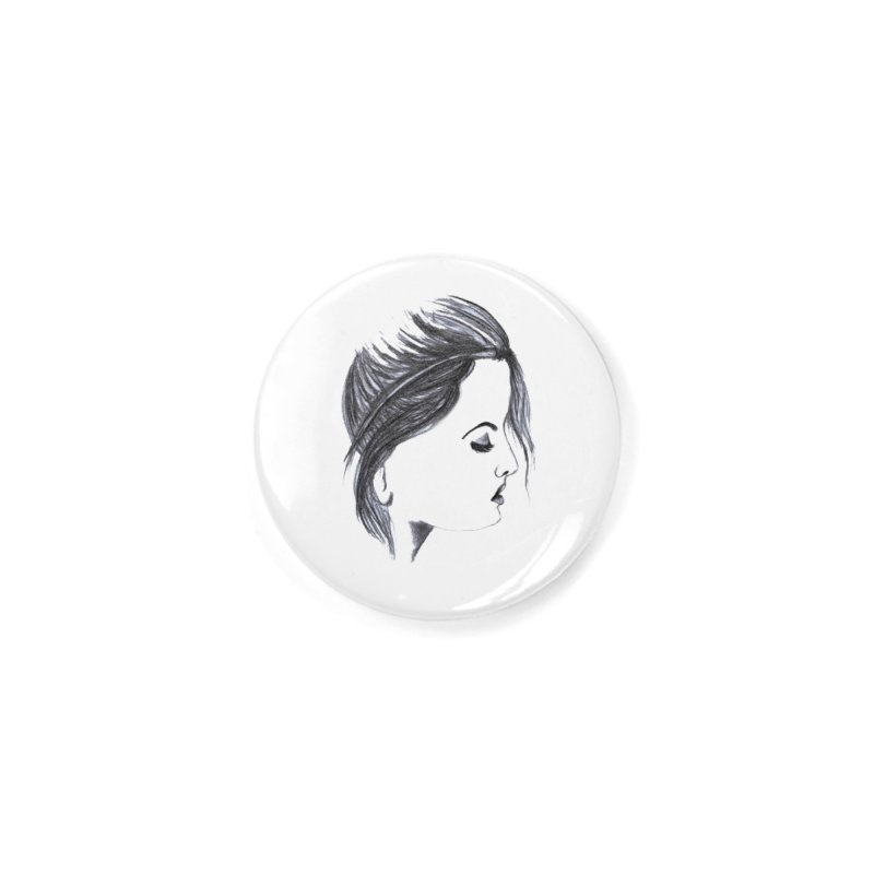 She Accessories Button by Hue Hub