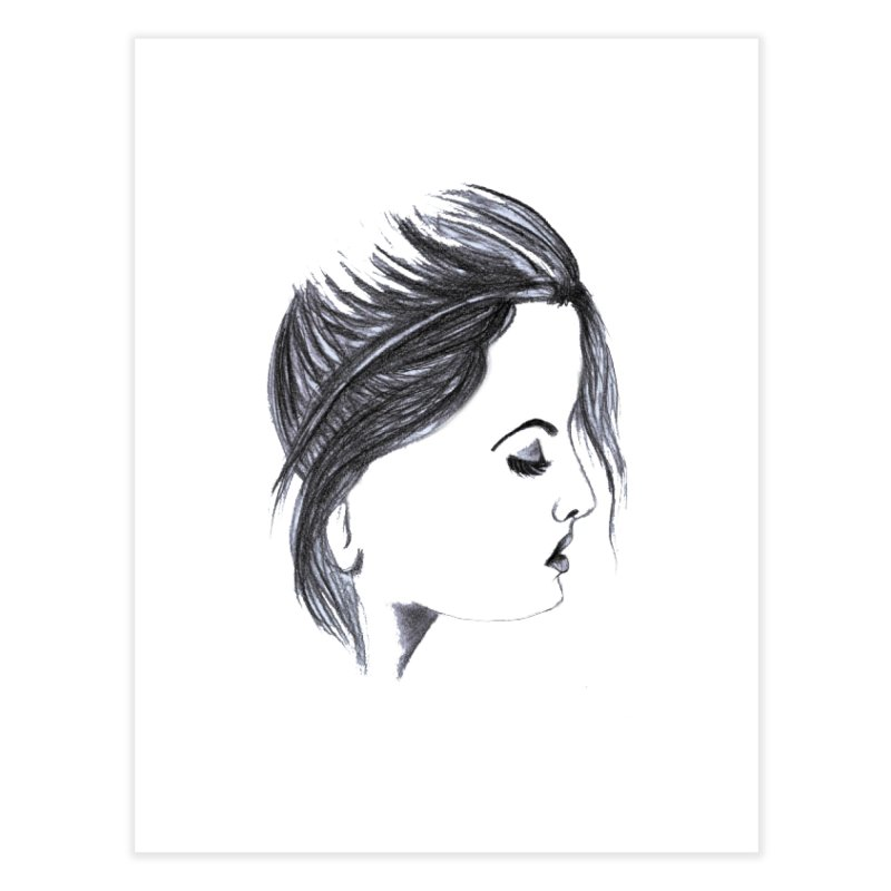 She Home Fine Art Print by Hue Hub