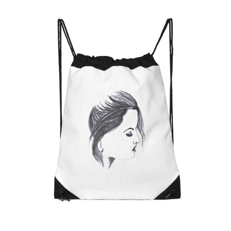 She Accessories Drawstring Bag Bag by Hue Hub
