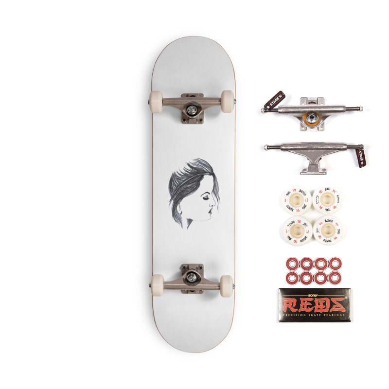 She Accessories Complete - Pro Skateboard by Hue Hub