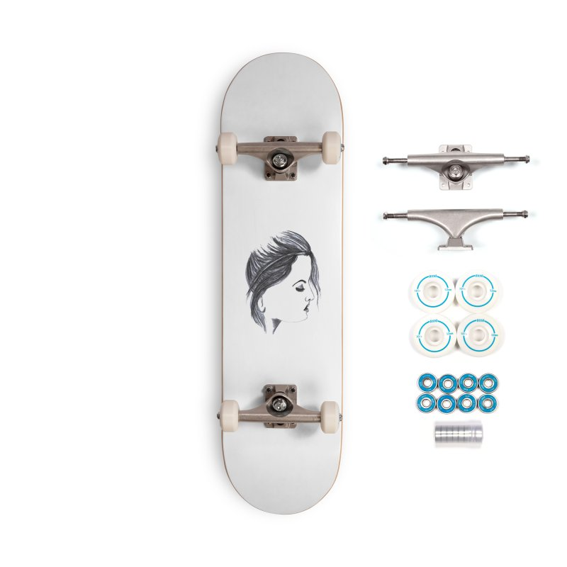 She Accessories Complete - Basic Skateboard by Hue Hub