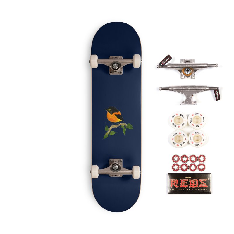 Orange FlyCatcher Accessories Complete - Pro Skateboard by Hue Hub