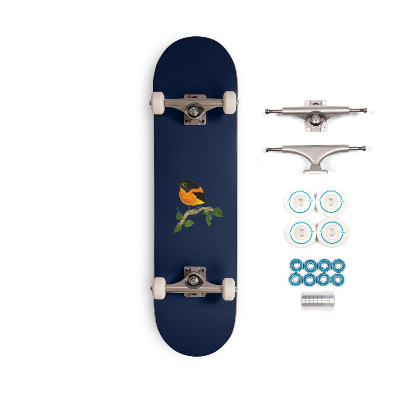 Orange FlyCatcher Accessories Complete - Basic Skateboard by Hue Hub