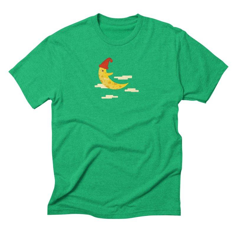 Cheesy Night Men's Triblend T-Shirt by Hue Hub