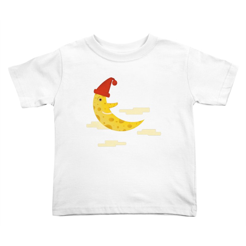 Cheesy Night Kids Toddler T-Shirt by Hue Hub