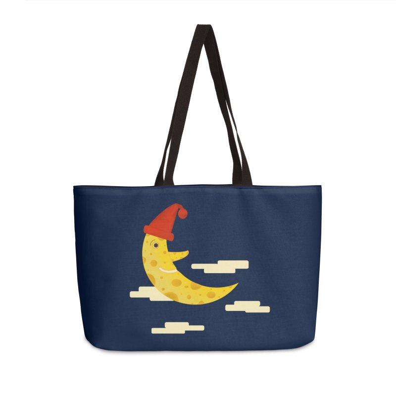 Cheesy Night Accessories Weekender Bag Bag by Hue Hub