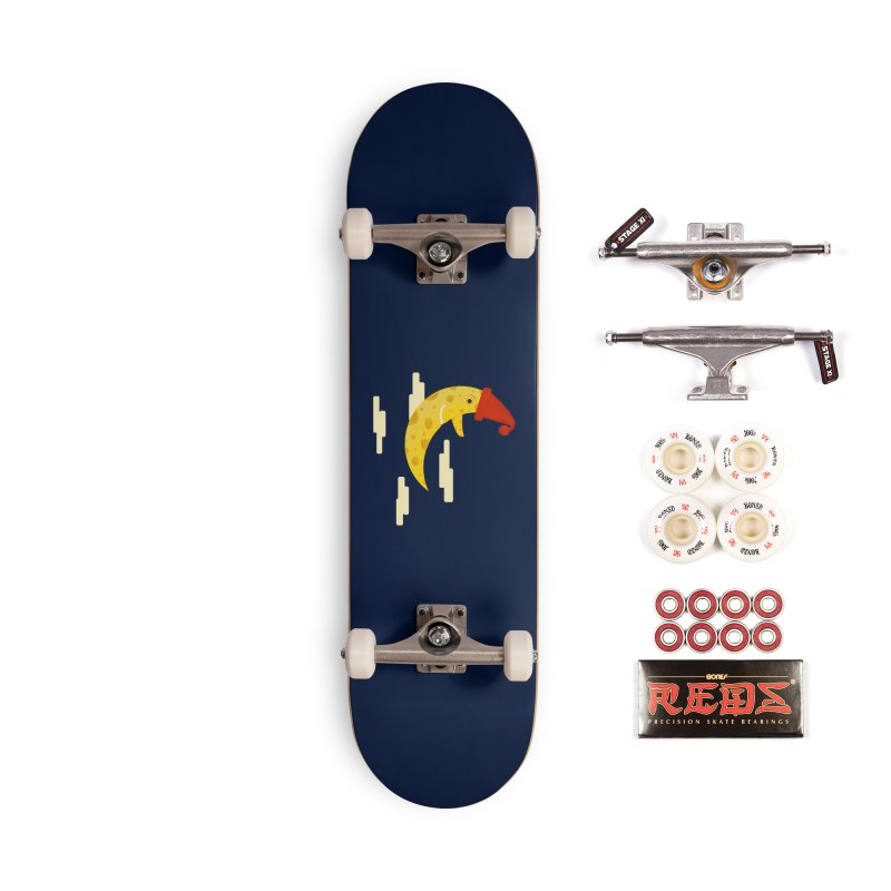 Cheesy Night Accessories Complete - Pro Skateboard by Hue Hub