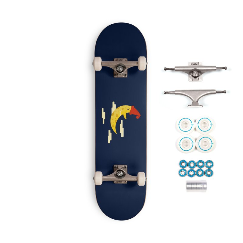 Cheesy Night Accessories Complete - Basic Skateboard by Hue Hub