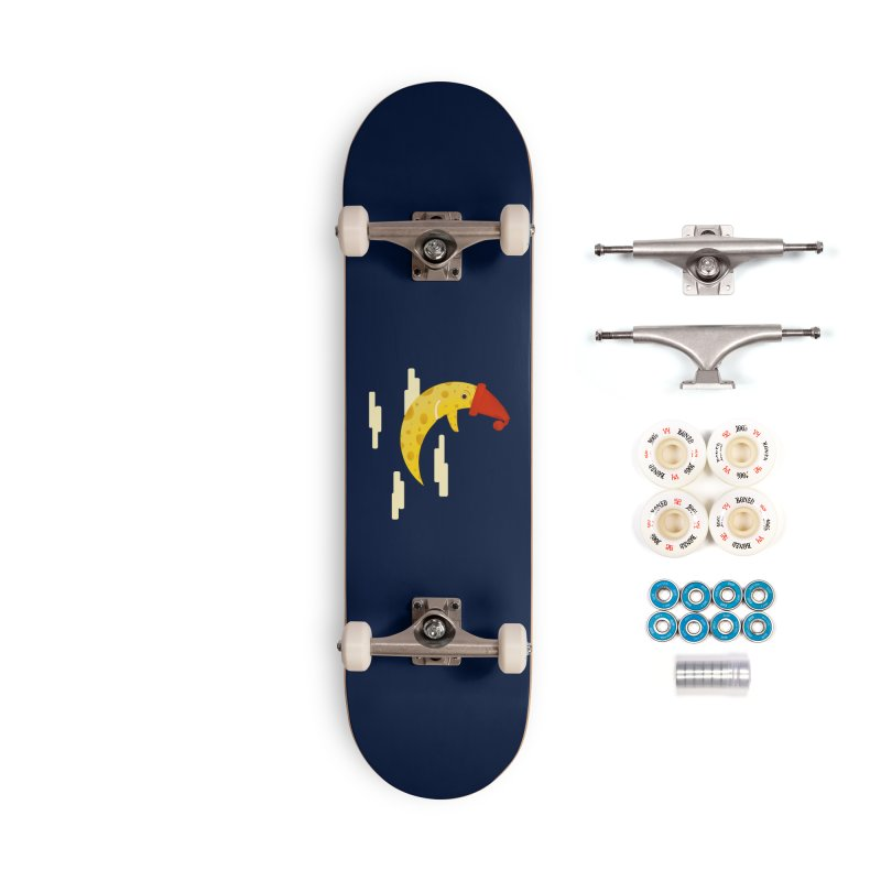 Cheesy Night Accessories Complete - Premium Skateboard by Hue Hub