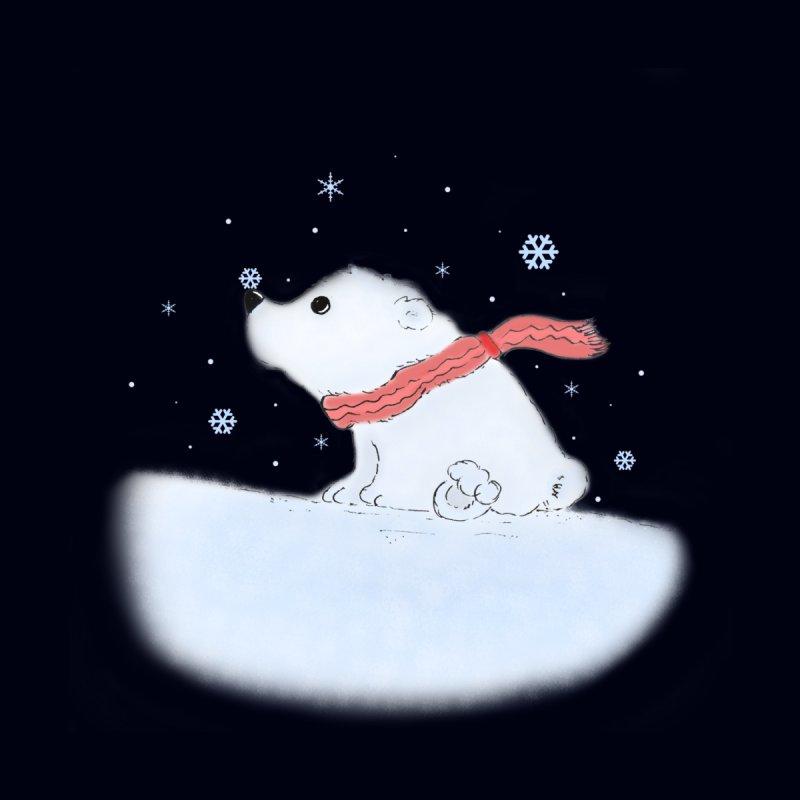 Polar babe Kids T-Shirt by Hue Hub