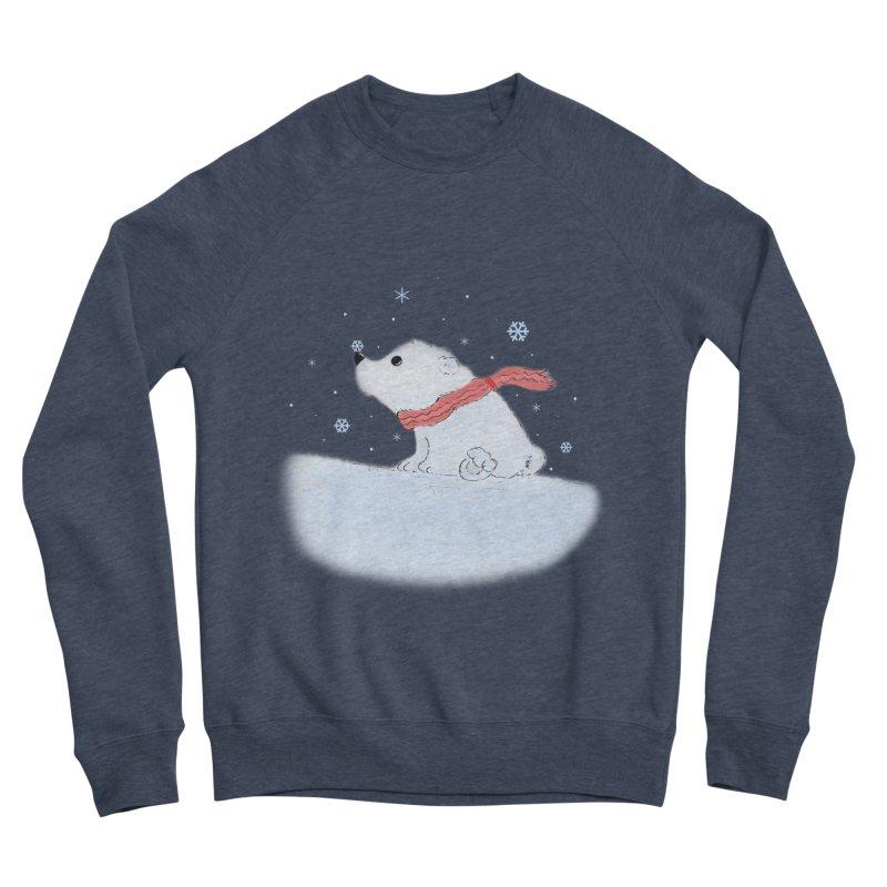 Polar babe Women's Sponge Fleece Sweatshirt by Hue Hub