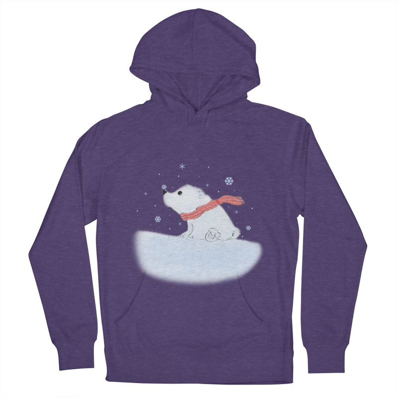 Polar babe Women's French Terry Pullover Hoody by Hue Hub