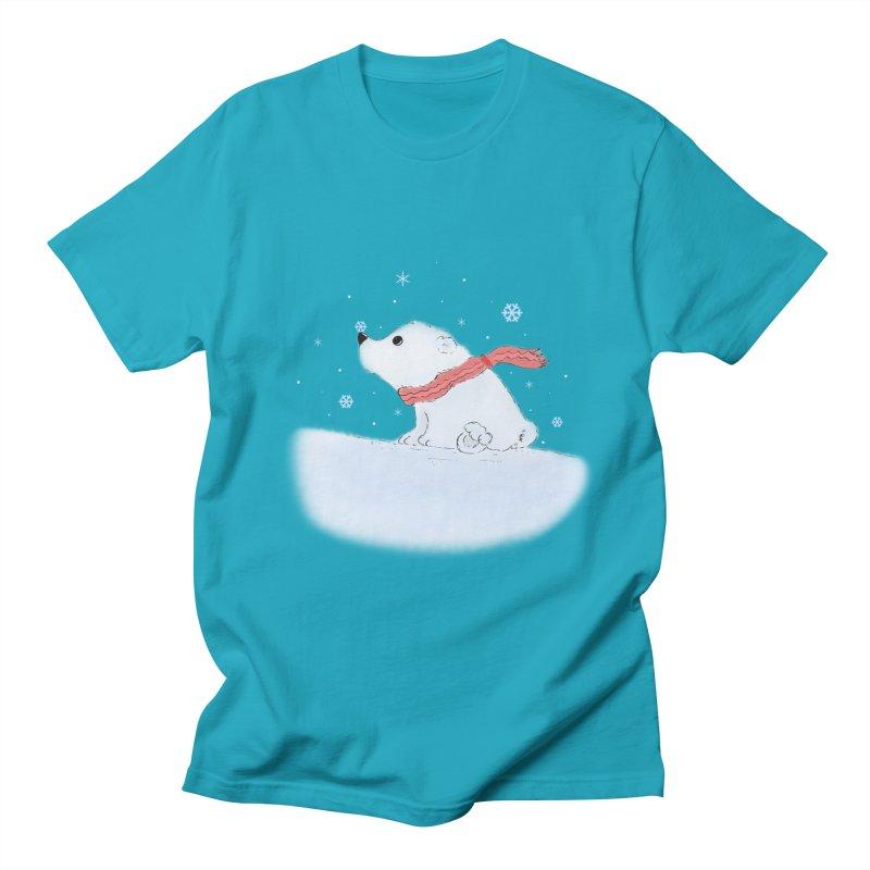 Polar babe Men's Regular T-Shirt by Hue Hub