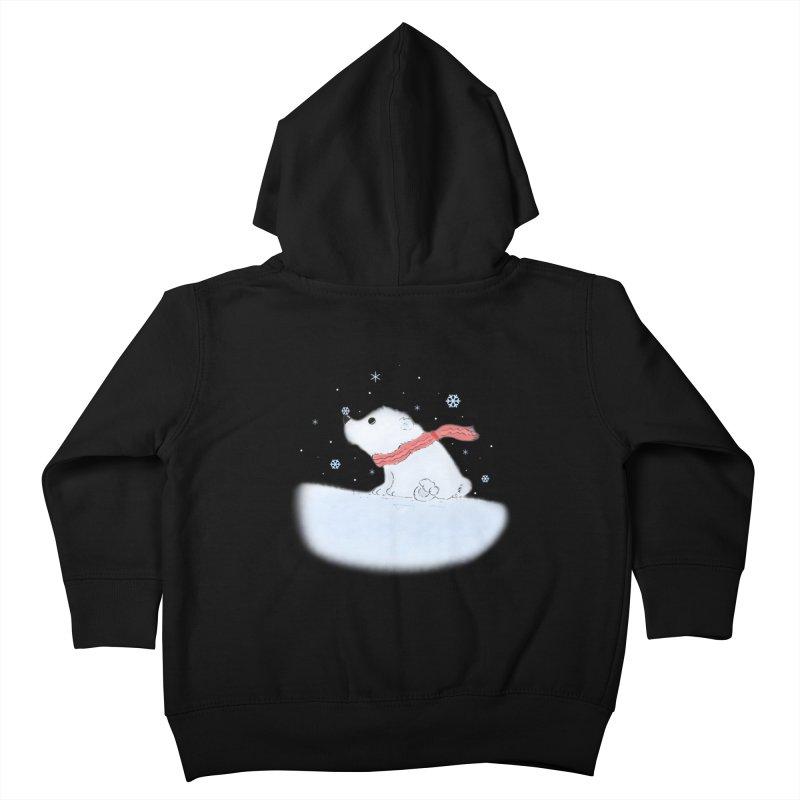 Polar babe Kids Toddler Zip-Up Hoody by Hue Hub