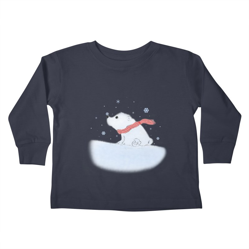 Polar babe Kids Toddler Longsleeve T-Shirt by Hue Hub