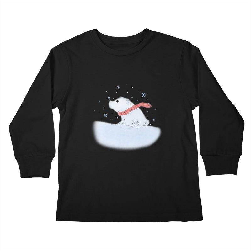 Polar babe Kids Longsleeve T-Shirt by Hue Hub