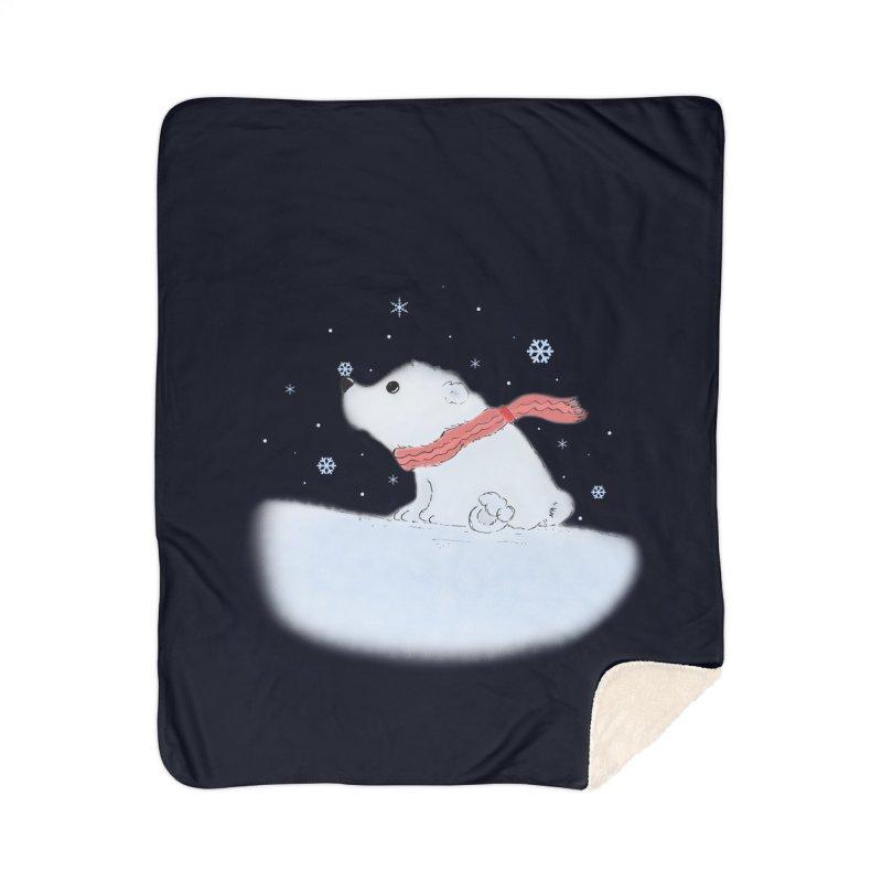 Polar babe Home Sherpa Blanket Blanket by Hue Hub