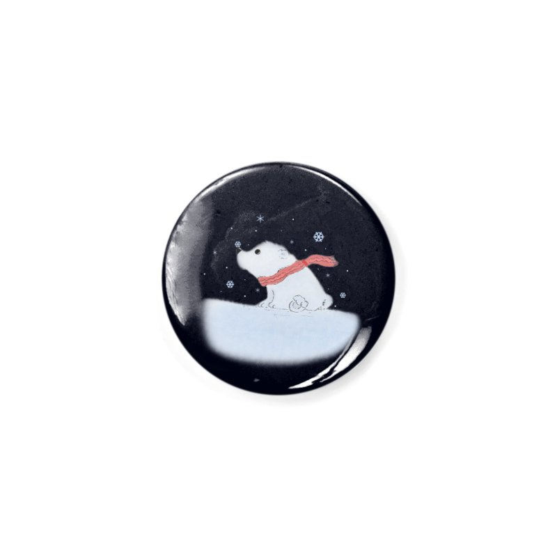 Polar babe Accessories Button by Hue Hub