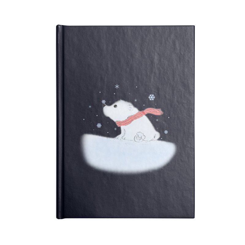 Polar babe Accessories Lined Journal Notebook by Hue Hub