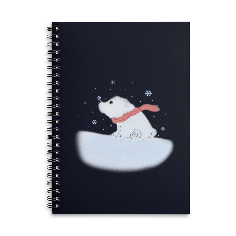 Polar babe Accessories Lined Spiral Notebook by Hue Hub